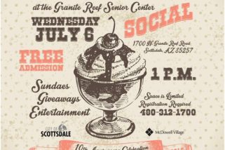 Ice Cream Social, Free Admission, July 6th