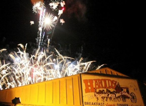 """""""3rd of July Fireworks Extravaganza"""" Spectacular in Cave Creek"""