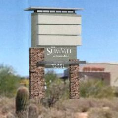 Discussion Continues: The Summit Scottsdale Proposes 8′  Sign