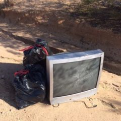 Volunteers & Cave Creek Museum, Thank You for Dec. 10 Scenic Drive Litter Cleanup